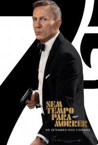 Poster do filme 007: Sem Tempo Para Morrer / No Time to Die (2021)