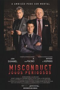 Poster do filme Misconduct - Jogos Perigosos / Misconduct (2016)