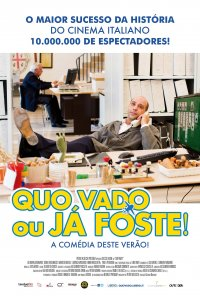 Poster do filme Quo Vado - Ou Já Foste! / Quo Vado? (2016)