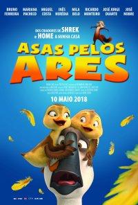 Poster do filme Asas Pelos Ares / Duck Duck Goose (2018)