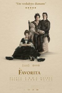 Poster do filme A Favorita / The Favourite (2018)