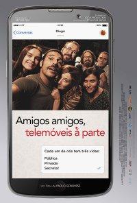 Poster do filme Amigos Amigos Telemóveis À Parte / Perfetti sconosciuti (2016)
