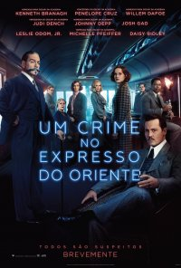 Poster do filme Um Crime no Expresso do Oriente / Murder on the Orient Express (2017)