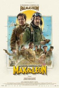 Poster do filme A Louca História de Max e Léon / La Folle Histoire de Max et Léon (2016)