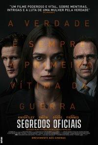 Poster do filme Segredos Oficiais / Official Secrets (2019)