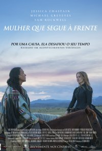 Poster do filme Mulher Que Segue à Frente / Woman Walks Ahead (2018)