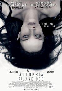 Poster do filme A Autópsia de Jane Doe / The Autopsy of Jane Doe (2016)
