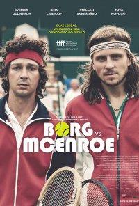 Poster do filme Borg vs. McEnroe / Borg/McEnroe (2017)