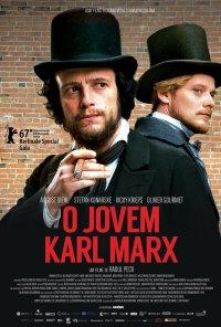 Poster do filme O Jovem Karl Marx / Le jeune Karl Marx (2016)