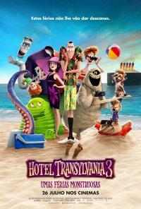 Poster do filme Hotel Transylvania 3: Umas Férias Monstruosas / Hotel Transylvania 3: Summer Vacation (2018)