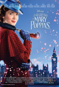 Poster do filme O Regresso de Mary Poppins / Mary Poppins Returns (2018)