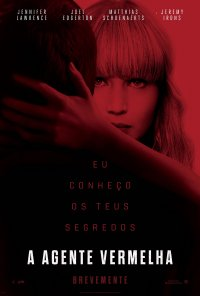Poster do filme A Agente Vermelha / Red Sparrow (2018)
