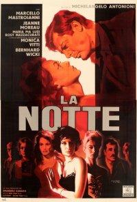 Poster do filme A Noite (reposição) / La notte (1961)