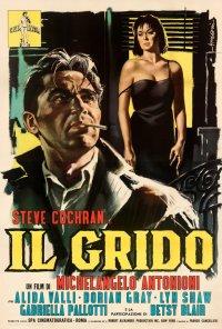 Poster do filme O Grito (reposição) / Il Grido (1957)