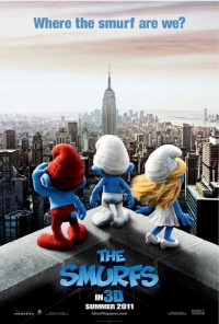 Poster do filme Os Smurfs / The Smurfs (2011)
