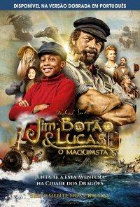 Poster do filme Jim Botão e Lucas, o Maquinista / Jim Knopf und Lukas der Lokomotivführer (2018)