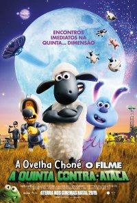 Poster do filme A Ovelha Choné O Filme - A Quinta Contra-Ataca / A Shaun the Sheep Movie: Farmageddon (2019)