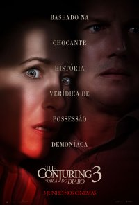 Poster do filme The Conjuring 3: A Obra do Diabo / The Conjuring: The Devil Made Me Do It (2021)