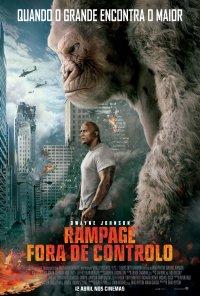 Poster do filme Rampage – Fora de Controlo / Rampage (2018)