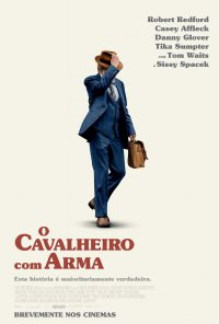 Poster do filme O Cavalheiro Com Arma / The Old Man and the Gun (2018)