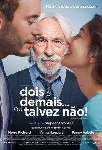 Poster do filme Dois É Demais Ou Talvez Não / Un Profil pour deux (2017)
