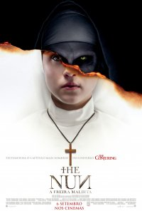 Poster do filme The Nun - A Freira Maldita / The Nun (2018)