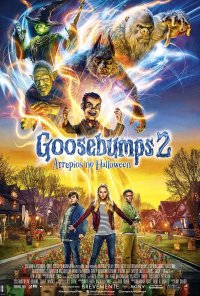 Poster do filme Goosebumps 2: Arrepios no Halloween / Goosebumps 2: Haunted Halloween (2018)