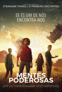 Poster do filme Mentes Poderosas / The Darkest Minds (2018)