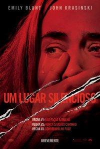 Poster do filme Um Lugar Silencioso / A Quiet Place (2018)