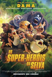 Poster do filme Os Super-Heróis da Selva / Les as de la Jungle (2017)