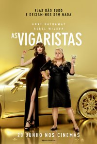 Poster do filme As Vigaristas / The Hustle (2019)