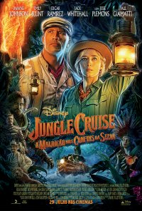 Poster do filme Jungle Cruise - A Maldição Nos Confins da Selva / Jungle Cruise (2019)