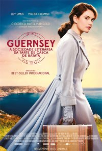 Poster do filme Guernsey - A Sociedade Literária da Tarte de Casca de Batata / The Guernsey Literary and Potato Peel Pie Society (2018)