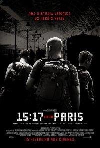 Poster do filme 15:17 Destino Paris / The 15:17 to Paris (2018)