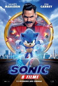 Poster do filme Sonic The Hedgehog (2019)