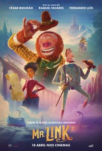 Poster do filme Mr. Link / Missing Link (2019)