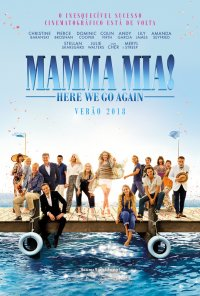 Poster do filme Mamma Mia: Here We Go Again! / Mamma Mia! Here We Go Again (2018)
