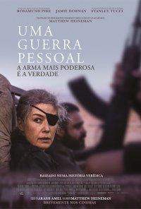 Poster do filme Uma Guerra Pessoal / A Private War (2018)