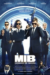 Poster do filme MiB: Homens de Negro: Força Internacional / Men in Black: International (2019)