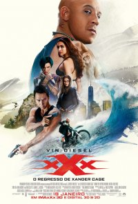 Poster do filme xXx: O Regresso de Xander Cage / xXx: The Return of Xander Cage (2017)