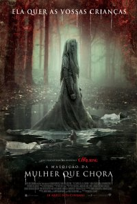 Poster do filme A Maldição da Mulher Que Chora / The Curse of La Llorona (2019)