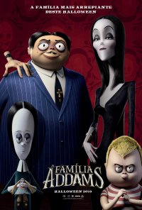 Poster do filme A Família Addams / The Addams Family (2019)