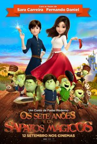 Poster do filme Os Sete Anões e os Sapatos Mágicos / Red Shoes and the Seven Dwarfs (2019)