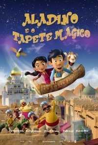Poster do filme Aladino e o Tapete Mágico / Hodja fra Pjort / Up and Away (2018)