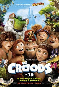 Poster do filme Os Croods / The Croods (2013)