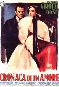 Poster do filme Escândalo de Amor (reposição) / Cronaca di un amore (1950)