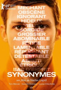 Poster do filme Synonymes (2019)