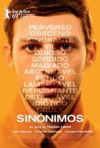 Poster do filme Sinónimos / Synonymes (2019)