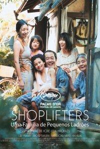 Poster do filme Shoplifters: Uma Família de Pequenos Ladrões / Manbiki kazoku / Shoplifters (2018)
