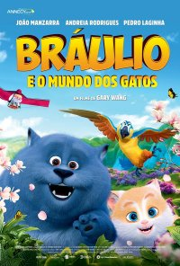 Poster do filme Bráulio e o Mundo dos Gatos / Cats and Peachtopia (2018)